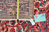 n/a Extra Large (9x12 and larger) Large Antique Persian Heriz 12'3x8'9.Fine HMade Oriental Persian Rug
