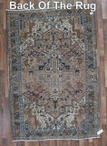 Persian Rug Hand Knotted Oriental Rug Antique Rug Persian Heriz 5'10X8'8