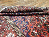 Persian Rug Hand Knotted Oriental Rug Fine Persian Hamadan 5'4X10'3 Persian Rug
