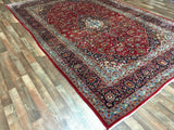Persian Rug Hand Knotted Oriental Rug Large Persian Kashan Rug 8'10X12'4