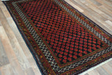 Persian Rug Hand Knotted Oriental Rug Persian Baluch Rug 3'4X6'1