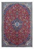 Persian Rug Hand Knotted Oriental Rug Persian Kashan Rug 7'4X10'7