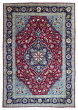 Persian Rug Hand Knotted Oriental Rug Semi-Antique Large Persian Kashan Oriental Rug 8'3X11'8