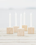 Wooden candle holder, TUIKE