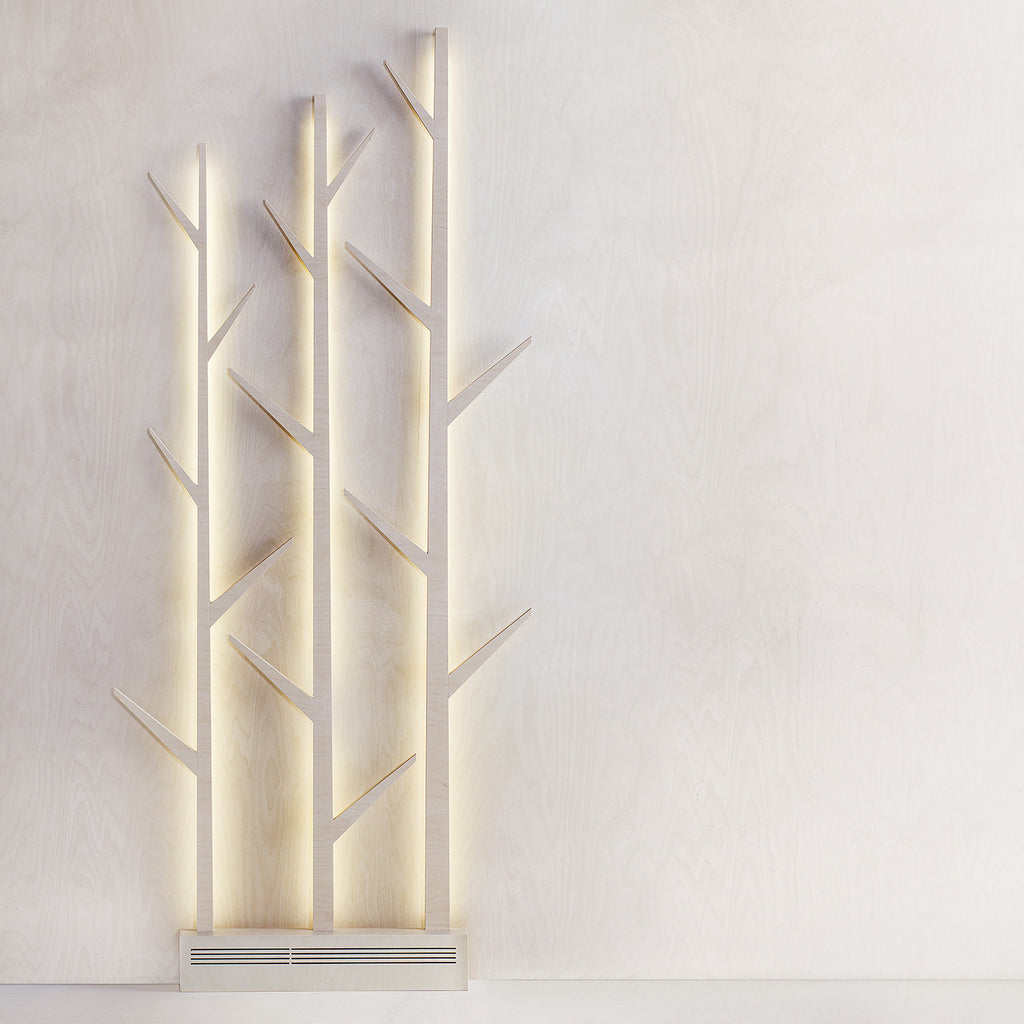 Sagalaga Design Korpi wooden light fixture