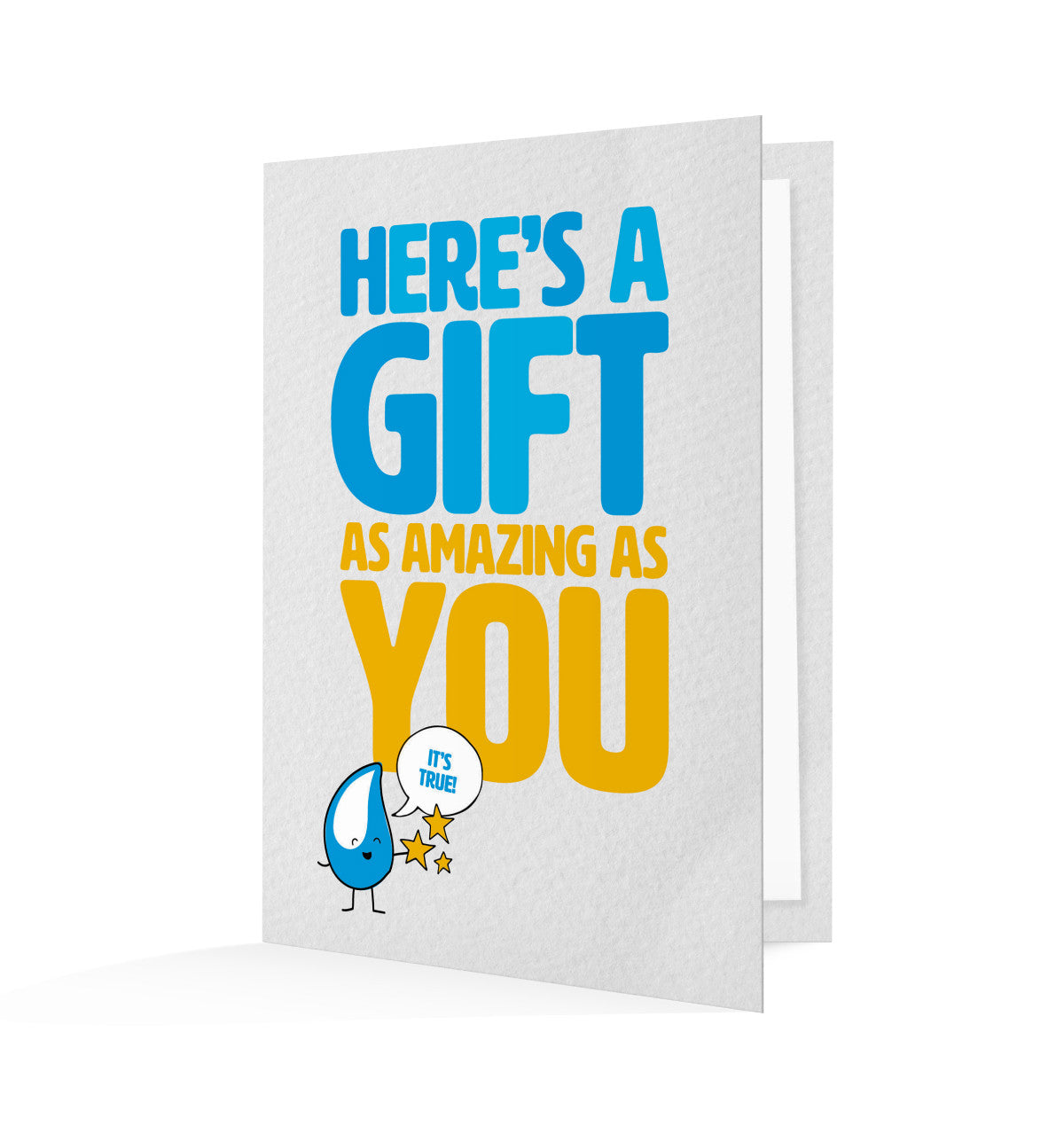 Gifting this card to someone special will provide a hand pump to a whole community.