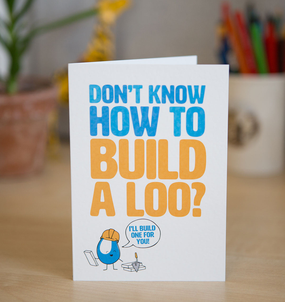 Every family deserves access to a clean loo that they can call their own and this card does just that. It provides them with a mason who can make this a reality.