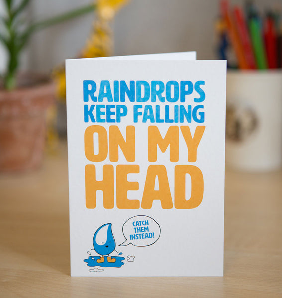 A rainwater harvesting system is the perfect unusual gift for that thrifty friend. Show them that you know how to pick a gift that gives you that feel good feeling, and also helps a family have access to clean water (in their home!) Plus, isn't this card is adorable?