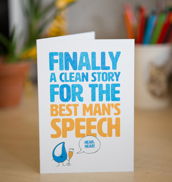 An underground rainwater harvesting system is the perfect wedding gift for those special friends. An underground rainwater harvesting system will catch those drips as they drop, ensuring communities have ongoing access to clean water. Plus, this card is pretty funny!