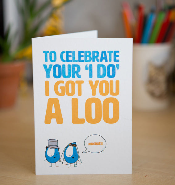 Add to the 'I do's' with a special loo! It's easy to take the humble loo for granted; these ventilated improved pit (VIP) toilets make a huge difference. You'll also have a very unique wedding gift for that special couple! Celebrations all round!
