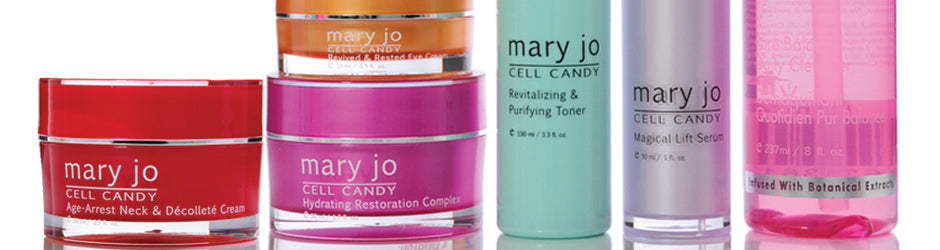 Mary Jo Cell Candy skin care