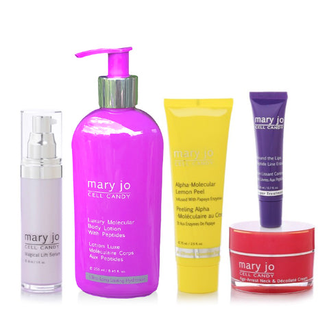 Mary Jo's five-piece treatment collection