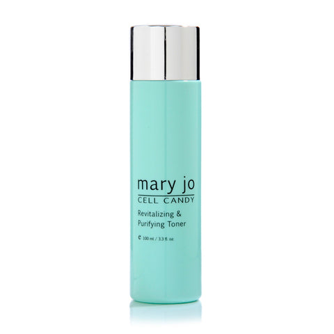 Mary Jo alcohol-free toner that awakens and cleanses your skin. Luxurious skin care product.