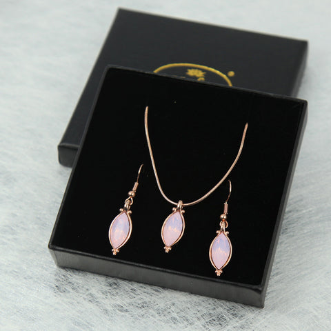 Teardrop Pendant Set