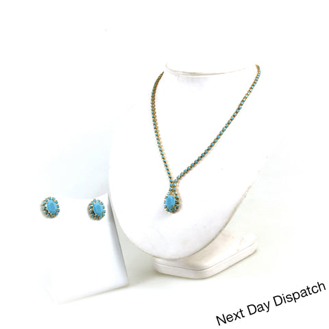 Oval pendant set ( Buy as Seen)