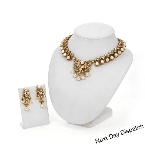 Divaan Pearl Set (BUY AS SEEN)