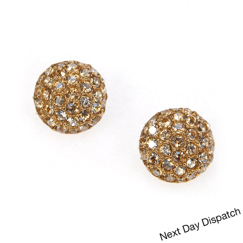 Pave Crystal Earrings (Buy as Seen)
