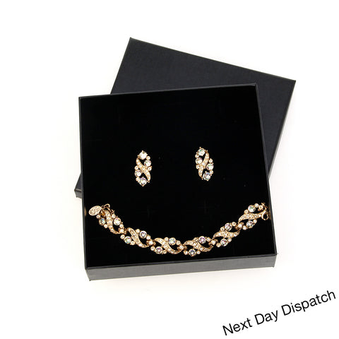 Kyles Traditional Bracelet and Earrings Set ( Buy as Seen )