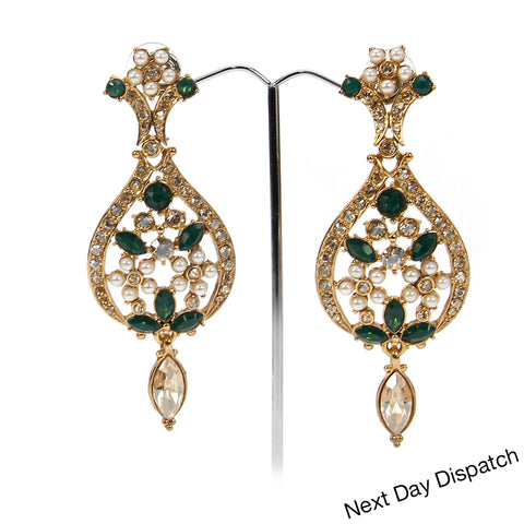 Flower leaf earring (Buy as Seen )