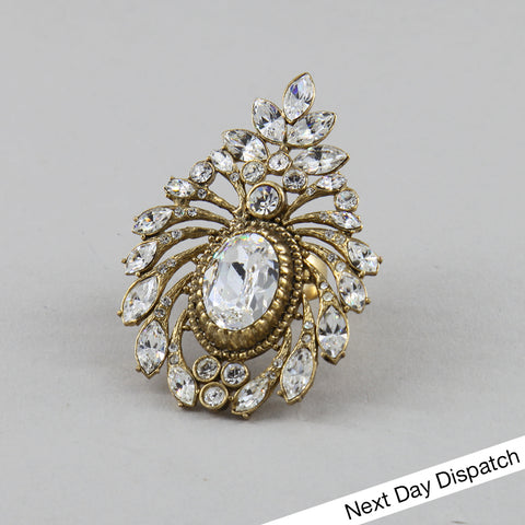 Ovalescent Couture Ring (BUY AS SEEN)
