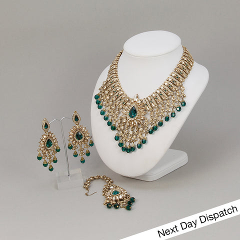 Emerald Navabi Set (BUY AS SEEN)