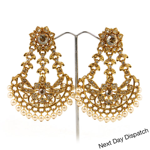 MAHAL DROP EARRINGS (BUY AS SEEN)