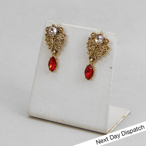 Nilaan Petite Drop Earrings (BUY AS SEEN)