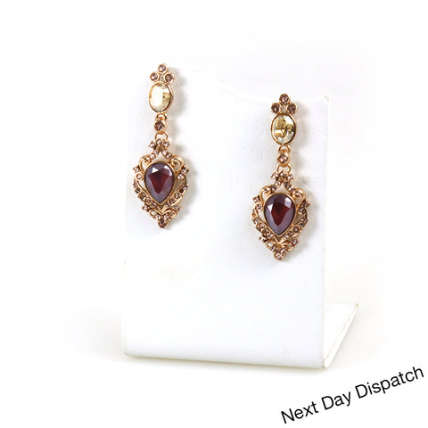 Tudor Cluster earrings ( Buy as Seen )
