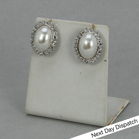 Oval Stud Earrings (BUY AS SEEN)