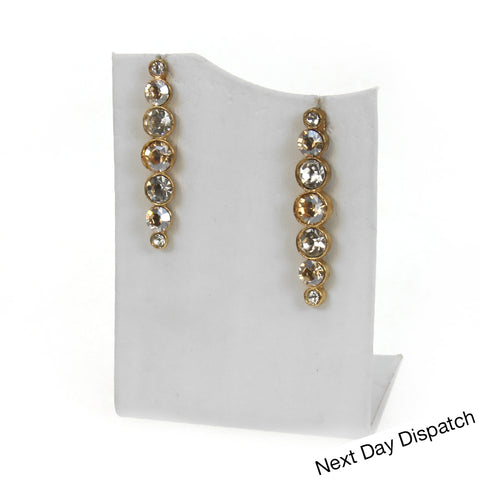 Classic Long stud Earrings ( Buy as Seen )