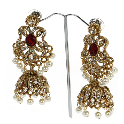 Adeema Jhumki Earrings