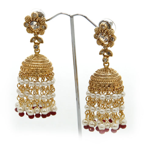 Pearl Droplet Jhumka (LIMITED EDITION)