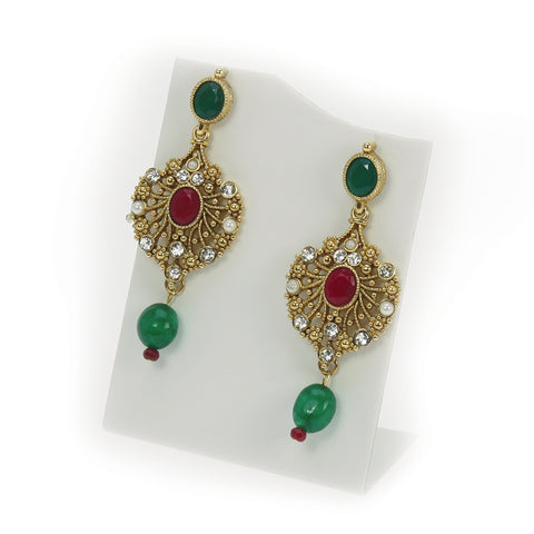 Puravati Droplet Earrings