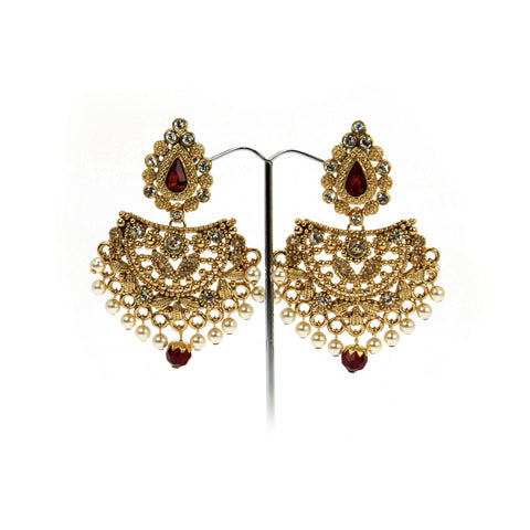 Sarja Fan Earrings