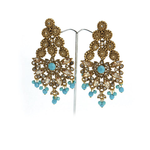 Nwabi Fan Earrings