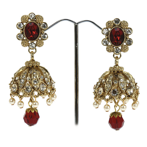 Mehrunisa Petite Jhumki Earrings