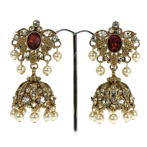 Mehrunisa Jhumki Earrings