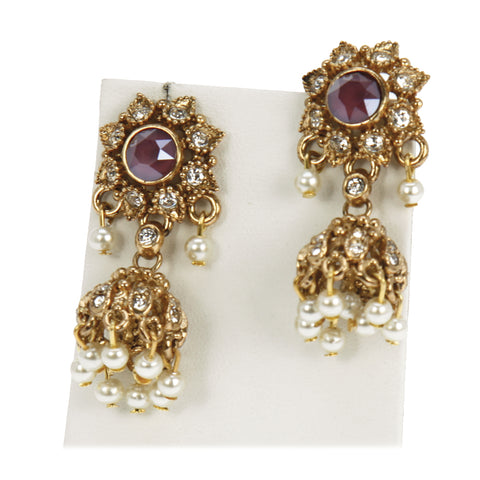Arisha Petite Jhumki Earrings