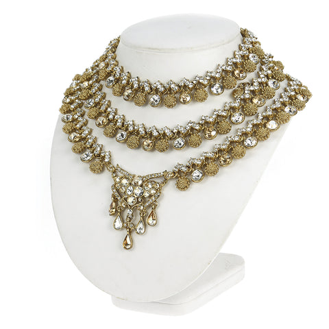 Simply Divaan Triple Necklace