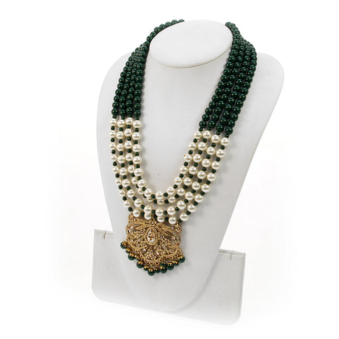 Dishna Beaded Long Necklace