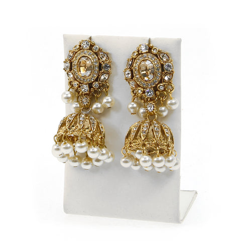 Heerat Jhumka Earrings