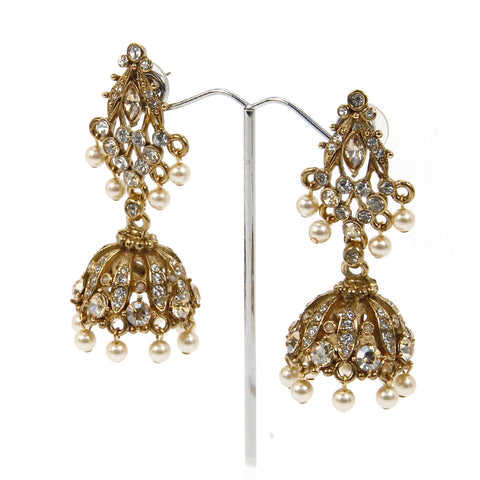 Aveer Jhumka Earrings