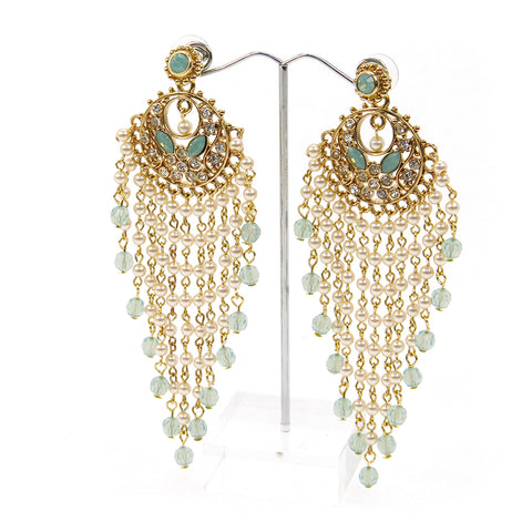 Mahroosh Chandelier Earrings