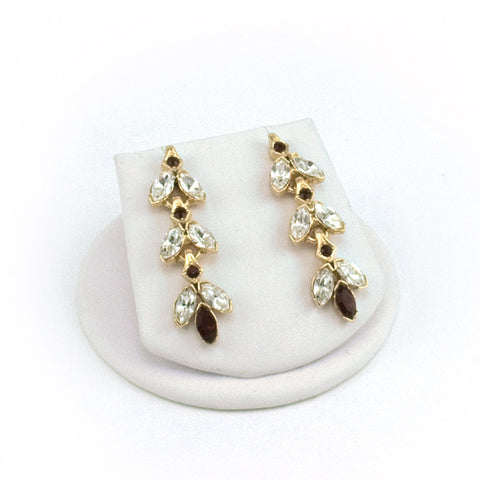 Dainty Petal Link Earrings