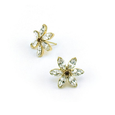 Dainty Petal Link Petite Earrings