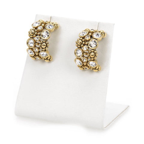 Mia Round Earrings