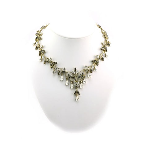 Floral Cluster Necklace
