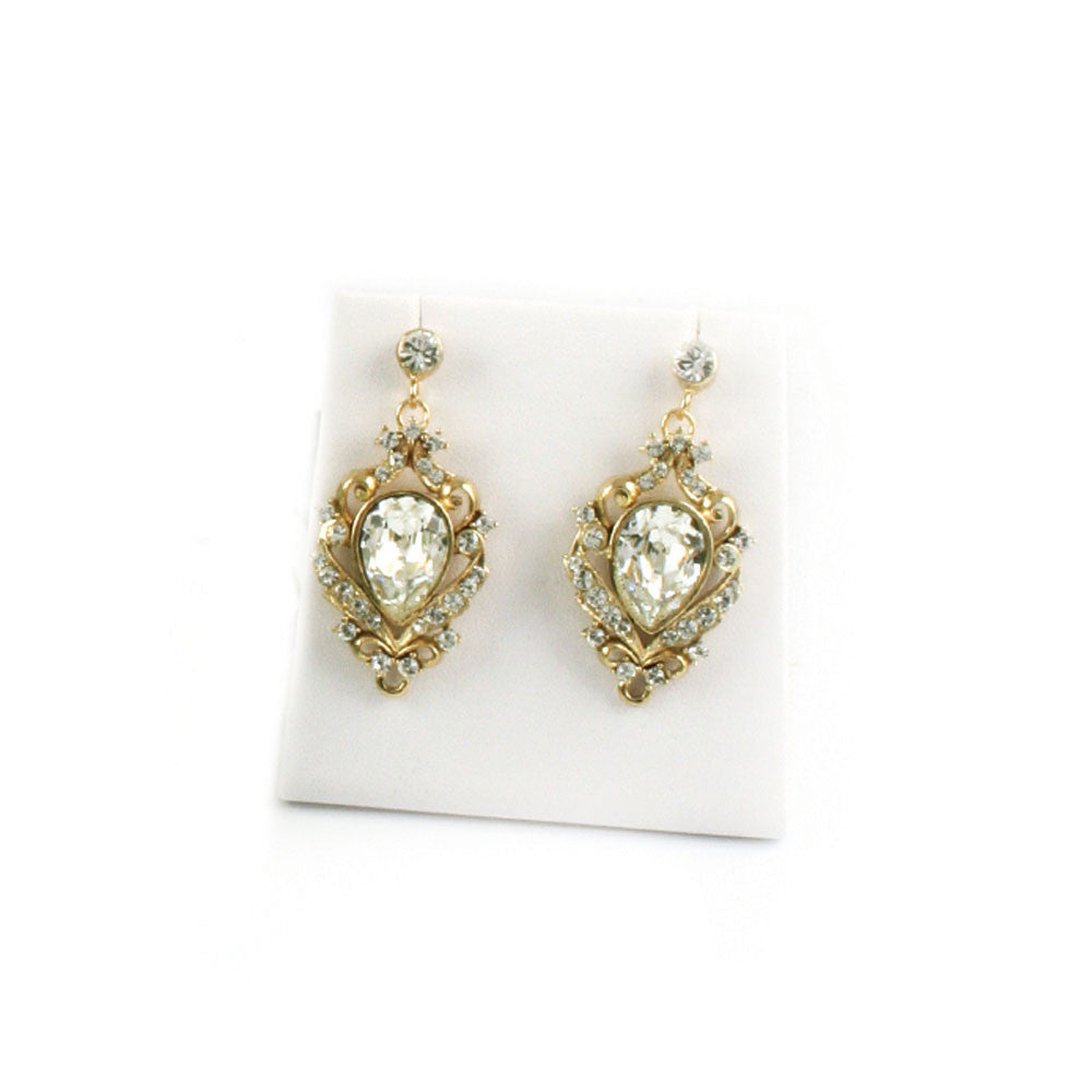 Sofia Pear Earrings