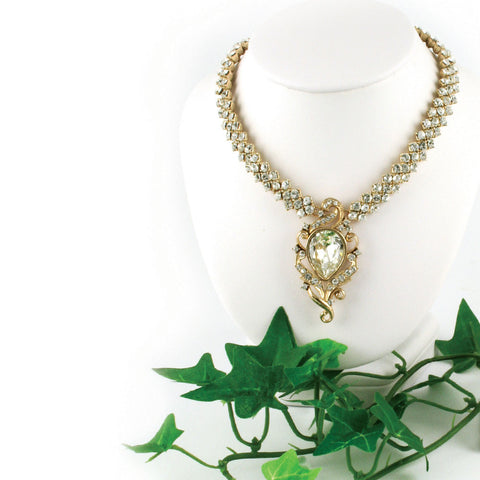 Sofia Pear Necklace