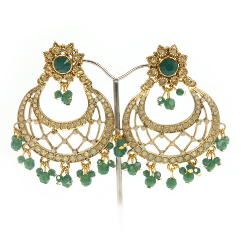 Rivaaz Moon Earrings